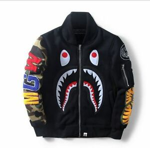 Image Is Loading New Japan Men  S Bape Version Shark