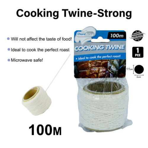 100m Cotton Twine Cooking String Oven Safe Butcher Meat Ties