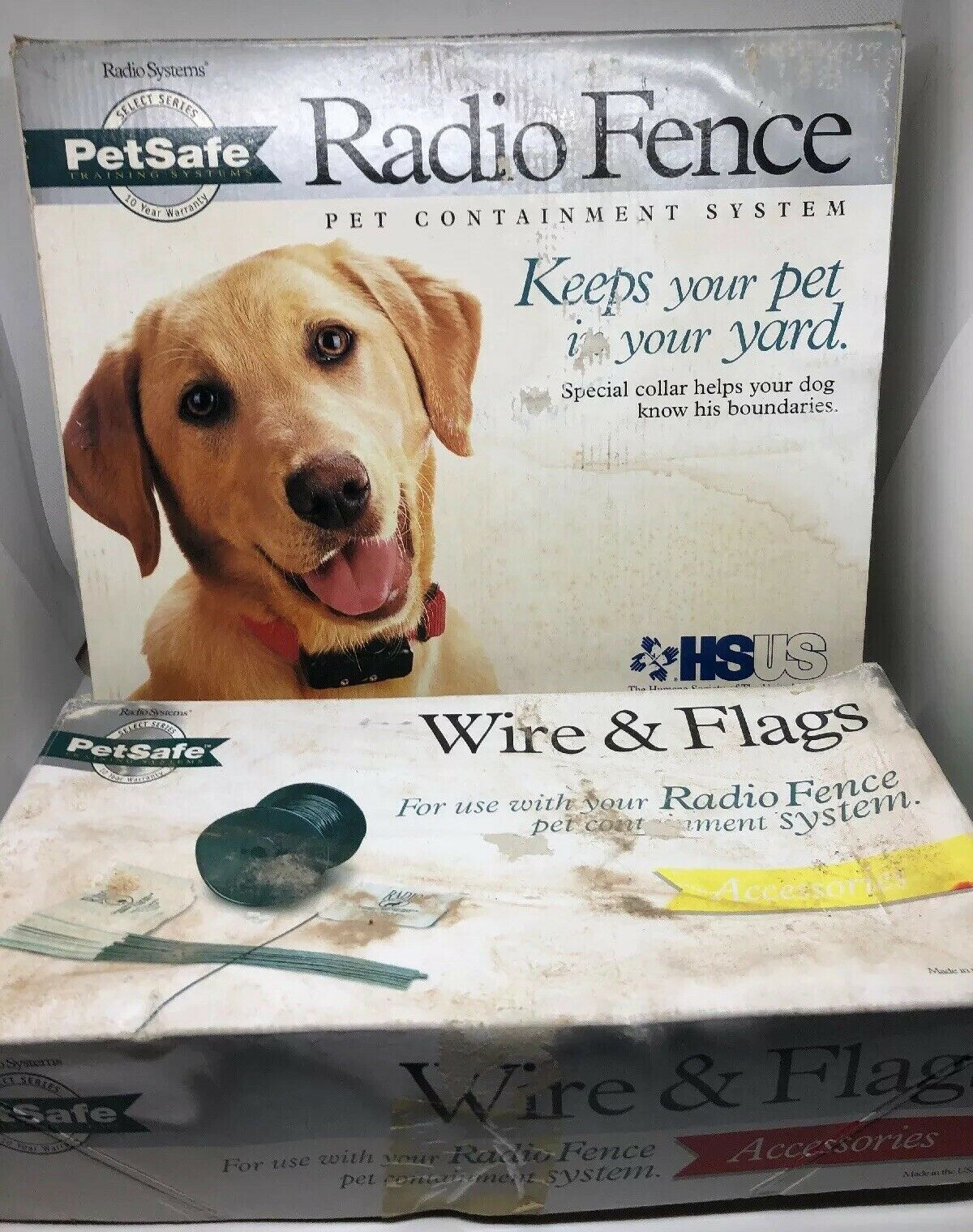 Petsafe RF-3004 Radio Fence Pet Containment System Standard In-Ground Dog w Wire