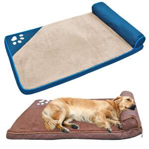 Extra Large Dog Bed Indestructible Plush Sleeping Mat For