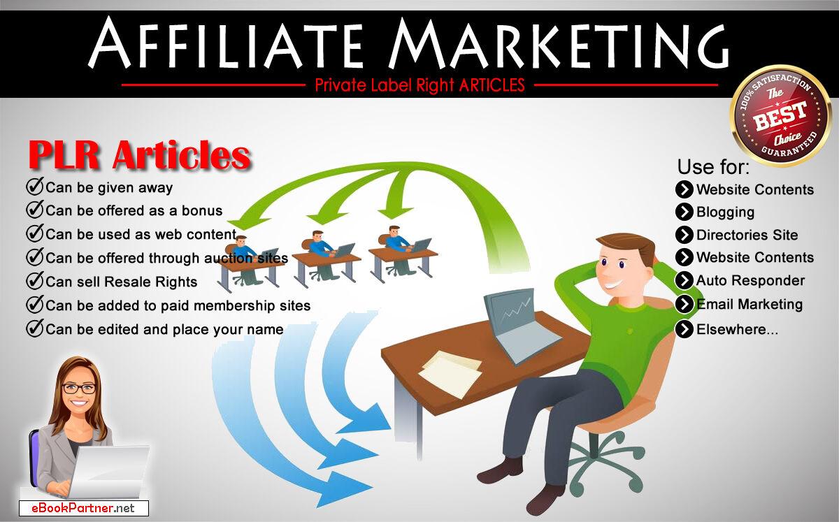 1000+ PLR Articles on Affiliate Marketing Niche Private Label Rights