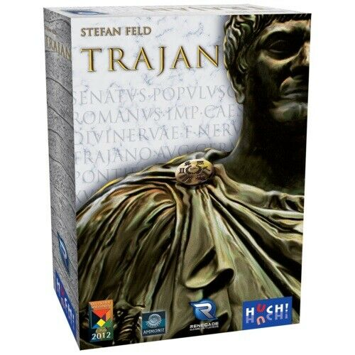 NEW  Trajan Board Game FACTORY SEALED