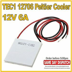 TEC1-12706-Thermoelectric-Peltier-Cooler-12v-6A-72W-40x40mm