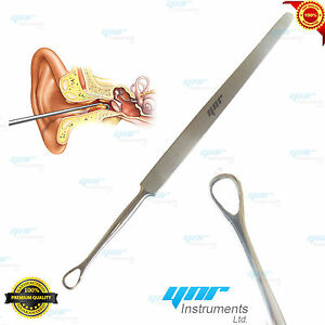 Details about YNR® EAR WAX REMOVER MEDICAL EAR CLEANER SURGICAL STAINLESS  STEEL PRODUCTS 14cm