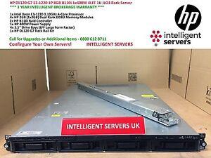 HP-dl120-g7-1x-e3-1220-8gb-b110i-1x-400w-ilo3-1u-Rack-Server