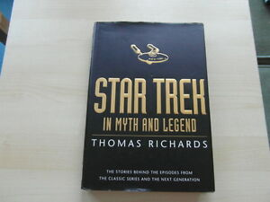 STAR-TREK-in-Myth-and-Legend-by-Richards-Thomas-Hardback-Book-VGC