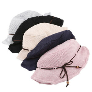 b8466317 Fashion Summer Women's Ladies Beach Sun Visor Wide Brim Floppy Straw ...