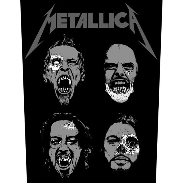 Metallica Undead Back Patch Official Heavy Metal New