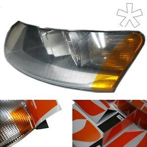 US - Design - Folie für Scheinwerfer / Blinker Audi A6 C6 Tuning Typ 4F li u. re