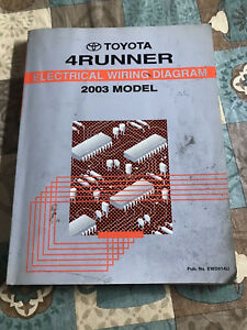 2003 Toyota 4Runner Service Repair Manual Electrical ...