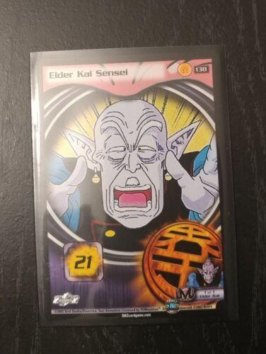 Rare from the Buu Saga DragonBall Z DBZ CCG Elder Kai Sensei