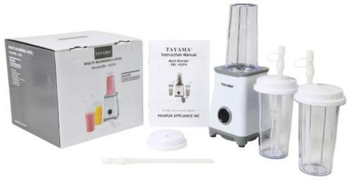 Tayama White Multi-Blender 11 Piece Set Model EBL-102P4 NEW!!!