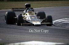 RONNIE PETERSON JPS Lotus 76 belga GRAND PRIX 1974 FOTO 1