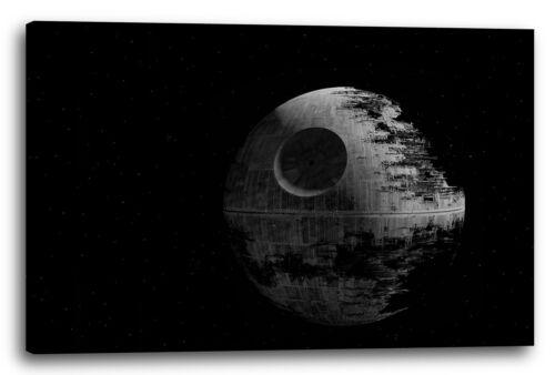 Star Wars Todesstern feiner als Poster Lein-Wand-Bild vier Größen verfügbar
