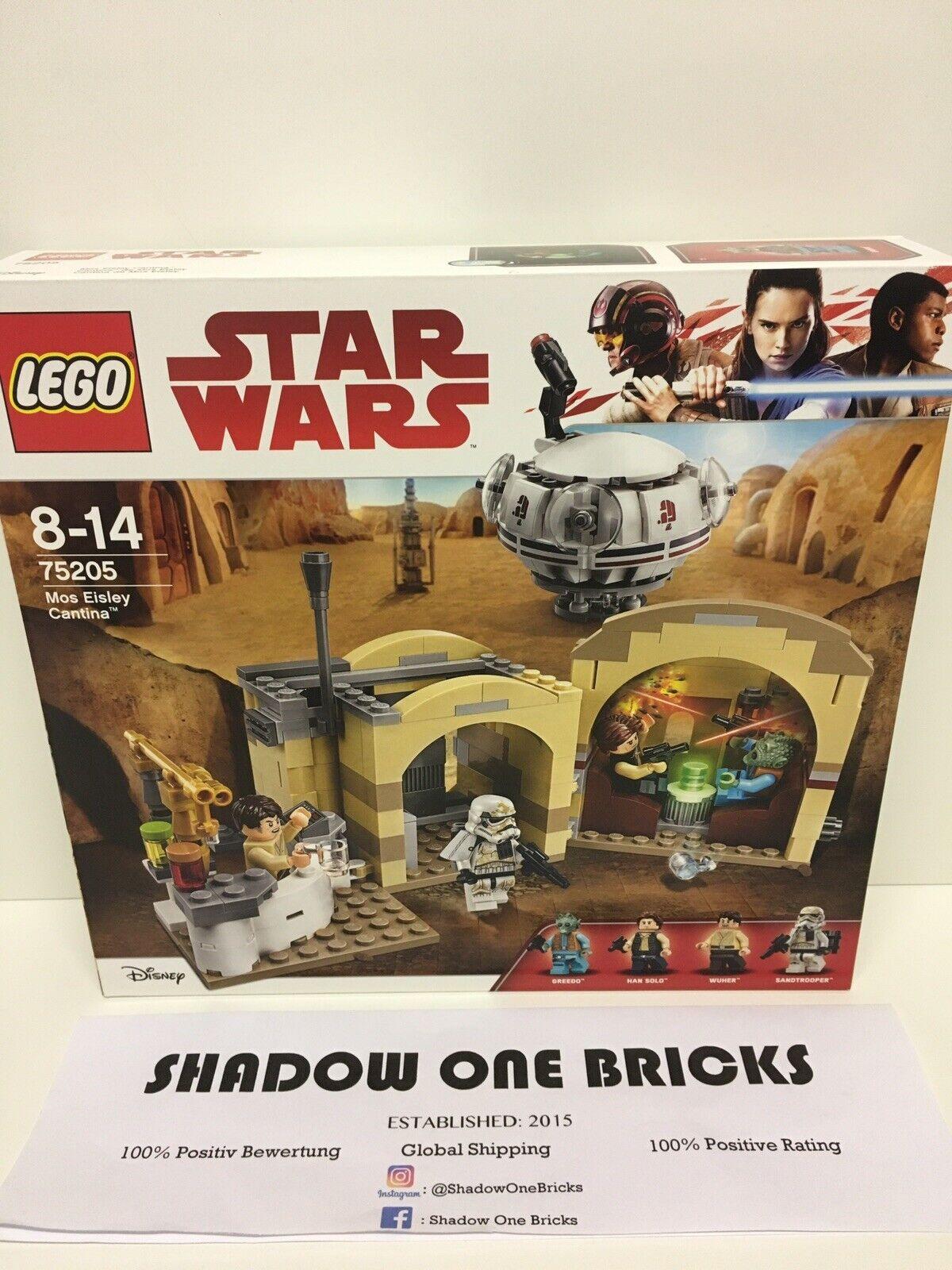 Lego Star Wars 75205 Mos Eisley Cantina NEU & OVP   NEW   SEALED