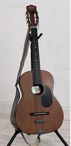 1976 Conn Drifter Guitar Korea Steel String Acoustic /b