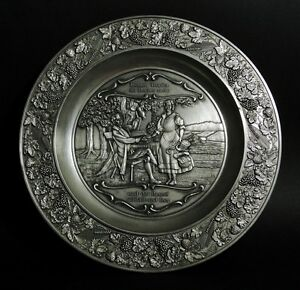 Pewter Hanging Plate Keinen Tropfen im Becher... Drink Song | FREE Delivery UK*