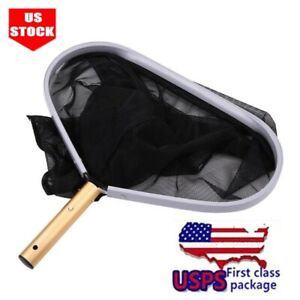 USA-Swimming-Pool-Net-Leaf-Rake-Mesh-Skimmer-Handheld-skimmer-Net-Pools-Pond-Spa