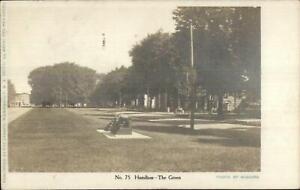 Hamilton-NY-The-Green-c1905-Real-Photo-Postcard