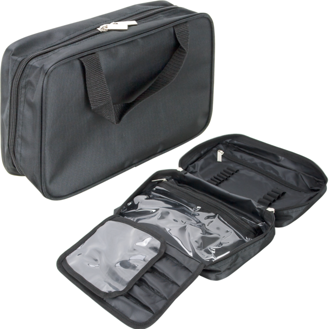 Casemetic Nylon Cosmetic Makeup Bag Brush Holder Case Organizer Beauty Storage