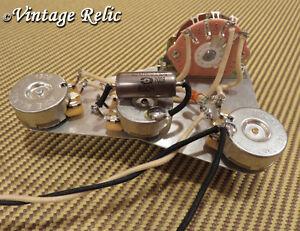 wiring upgrade fits stratocaster blender vol mod pio cap fender switch cts pots ebay. Black Bedroom Furniture Sets. Home Design Ideas