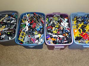Lego-Technic-4-POUND-Bulk-Lot-Parts-Pieces-4-LBS-NXT-Beams-Gears-Mindstorms