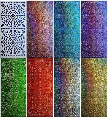 Starform SHIMMER HAPPY BIRTHDAY Peel Off Stickers Card Making Glitter