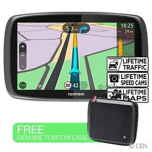 tomtom trucker 6000 lifetime edition free uk eu maps traffic hgv truck sat nav ebay. Black Bedroom Furniture Sets. Home Design Ideas