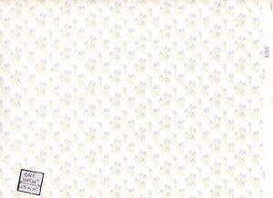 Mini Iris. 114D2 MiniGraphics wallpaper dollhouse miniature 1//12 scale