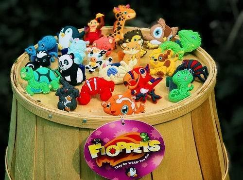 Lot of 36 Pieces Floppets Collectible Wearable Petlets