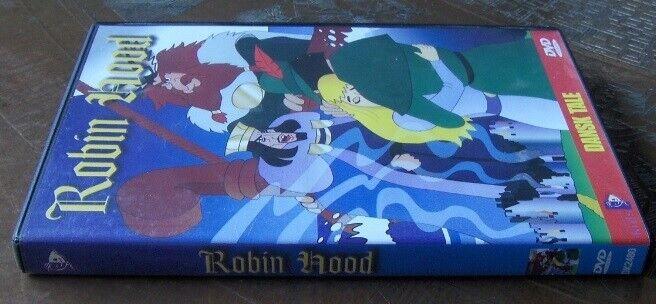 DVD: ROBIN HOOD - MED DANSK TALE, DVD, animation