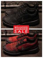 Bnib Men Nike Air Roshe Two Flyknit 365 Black Crimson Size 8 9 10 Uk
