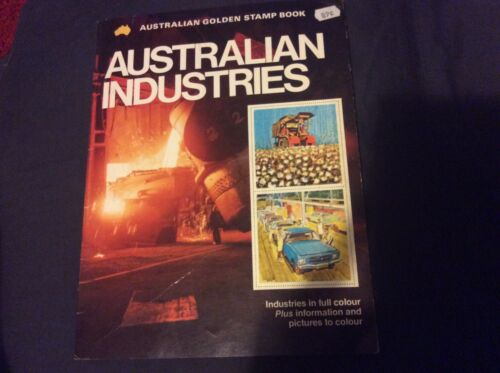 Australian Golden Stamp Book Australian Industries 1978