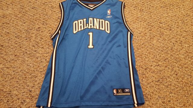 finest selection 634e0 ef97c NBA Reebok Orlando Magic Tracy McGrady Jersey- XL