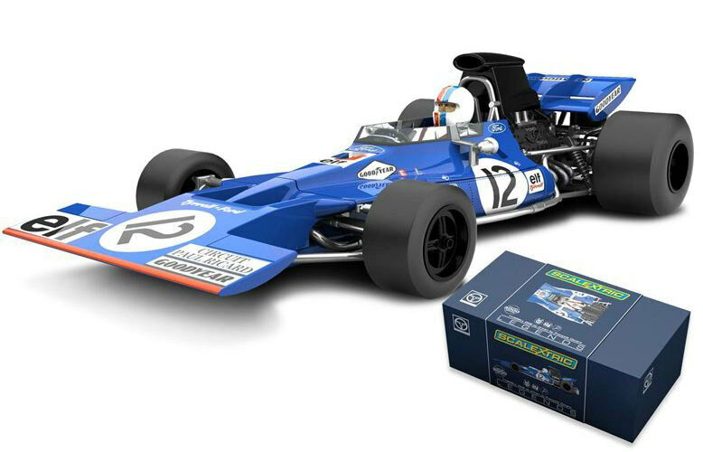Scalextric C3482A Legends Tyrrell 002 French GP Paul Ricard Cegreen Slot Car 1 32