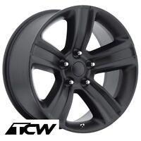 20 Inch 20x9 Ram 1500 2013 Oe Factory Satin Black Wheels Rims 5x139.7mm +18mm
