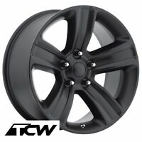 (4) 20 Inch 20x9 Ram 1500 2013 Oe Replica Black Wheels Rims Fit Ram 1500 94-17