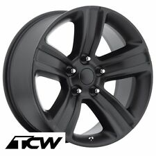 "20 inch 20x9"" Ram 1500 2013 OE Factory Satin Black Wheels Rims 5x139.7mm +18mm"