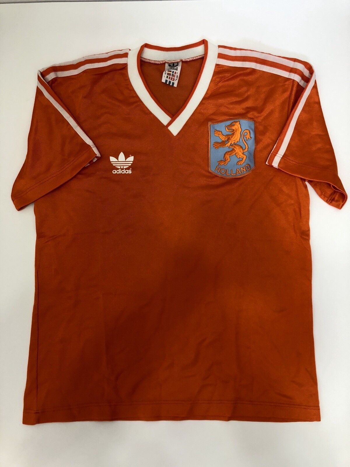 Adidas Vintage Olea Holle Nazionale Oleese Maglia Calcio Taglia M Anni 70