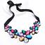 Fashion-Elegant-Women-Rhinestone-Crystal-Choker-Bib-Statement-Pendant-Necklace thumbnail 26
