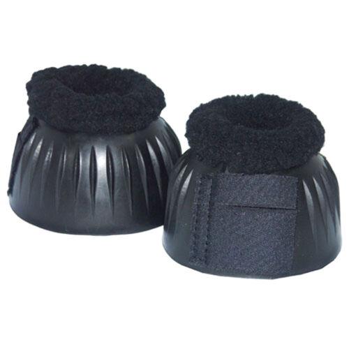 Noir Nouveau Couronne Polaire Doublé Bell Boot-Medium
