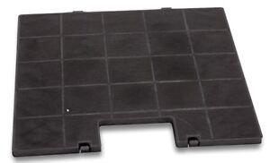 Aktivkohlefilter für lenoxx k300 für abzugshaube quattro black 120