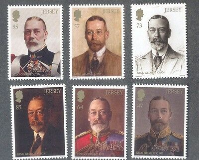 King George V- Royalty-paintings-art Mnh Set 2016-jersey Set Chills And Pains