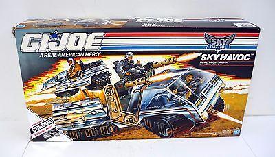 GI JOE SKY PATROL SKY HAVOC Vintage Figure Vehicle MIB SEALED CONTENTS 1990