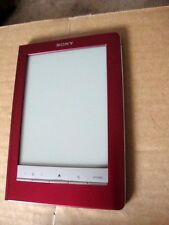 SONY (PRS600RC) E-READER IN RED, REFURBISHED BY SONY, EXCELLENT CONDITION.
