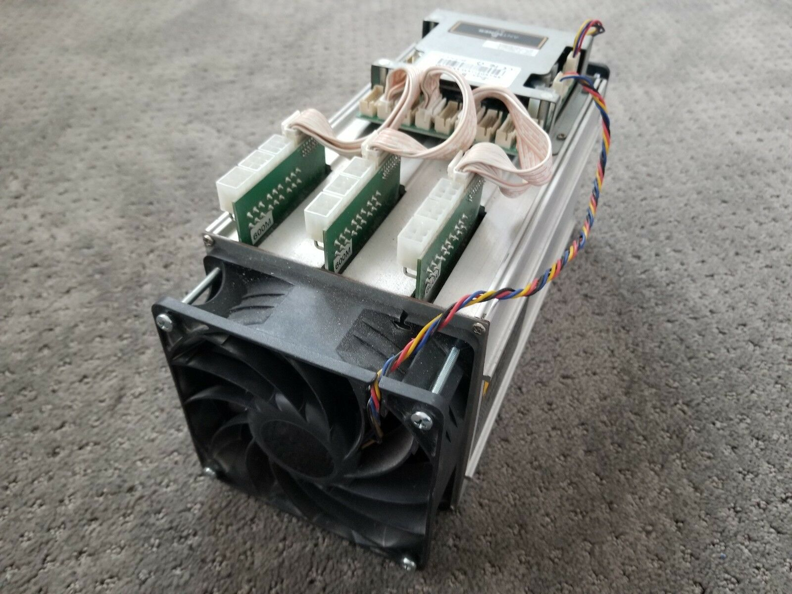 USED Bitmain AntMiner S7 ASIC BitCoin Miner 4 73TH/s + (2