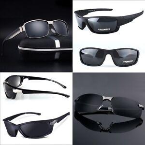Occhiali-da-sole-Polarizzati-HD-Sport-buona-Qualita-taglie-varieta-Custodia