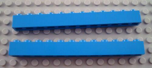 LEGO Lot of 2 Blue 1x12 Brick Pieces