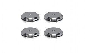 4-x-ViaBlue-Discs-para-hs-spikes-Black-sustituto-arandelas-50220-negro
