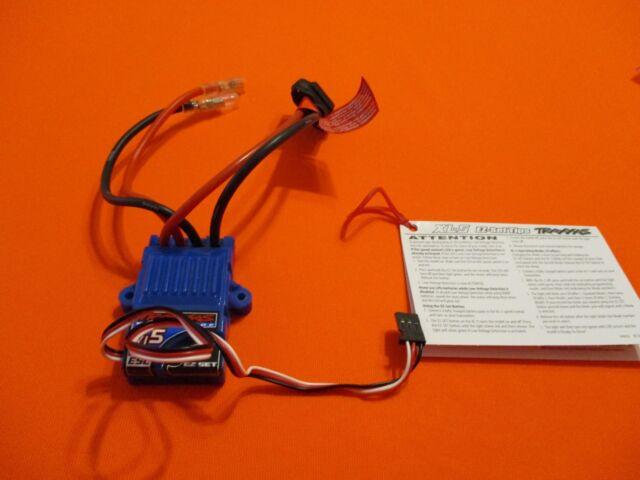 TRAXXAS XL-5 WATERPROOF ESC LVD ID  RUSTLER SLASH STAMPEDE BANDIT SPEED CONTROL